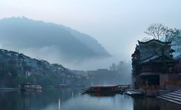 kinesisk morgon Royaltyfri Foto