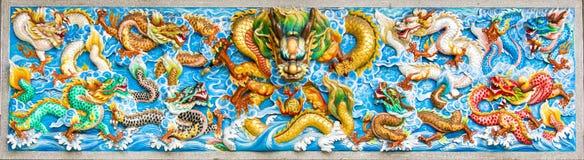 Kinesisk mosaik Royaltyfri Foto