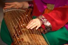 kinesisk musik Arkivbild