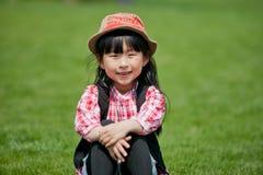 Kinesisk nätt flicka Arkivfoto