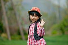 Kinesisk nätt flicka Arkivbilder