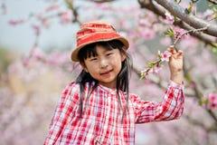 Kinesisk nätt flicka Fotografering för Bildbyråer