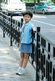 kinesisk near väg för barn Arkivbilder