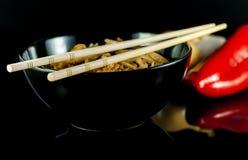 kinesisk nudel Fotografering för Bildbyråer