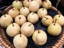 kinesisk ny pear Royaltyfria Foton