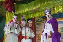 Kinesisk opera Arkivbilder