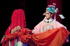 kinesisk opera sichuan för skådespelarear Royaltyfria Foton