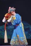 kinesisk operaaktör sichuan Arkivfoto