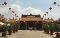 Kinesisk pagod i Saigon, Vietnam Arkivbild