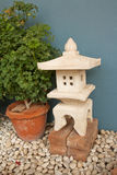 kinesisk pagoda Arkivfoto