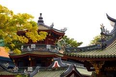 kinesisk pagoda Fotografering för Bildbyråer