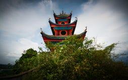 kinesisk pagoda Royaltyfria Foton