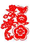 Kinesisk papper-snitt fu Arkivfoto