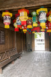 Kinesisk pappers- lykta Royaltyfri Fotografi