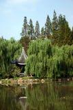 kinesisk park arkivbild