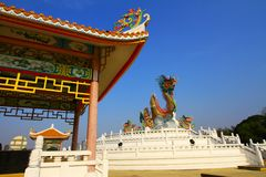 Kinesisk paviljong Royaltyfri Bild