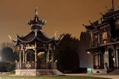 kinesisk paviljong Arkivfoton