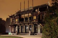 kinesisk paviljong royaltyfria bilder