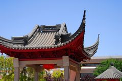 kinesisk paviljong sex Royaltyfri Fotografi