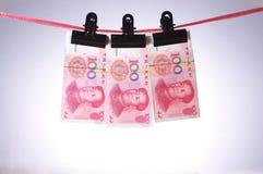 kinesisk pengarrmb Arkivbilder