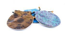 Kinesisk plånbok eller handväska Arkivfoto