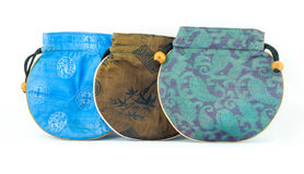 Kinesisk plånbok eller handväska Arkivbilder