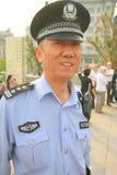 kinesisk polis fotografering för bildbyråer