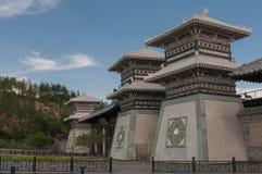 kinesisk port Arkivfoton