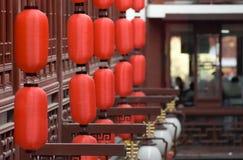 Kinesisk restaurang Arkivfoton