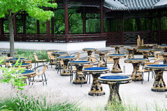 Kinesisk restaurang Arkivbild