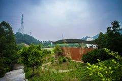 Kinesisk skola Arkivbild