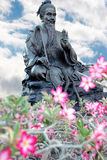 kinesisk skulptur Royaltyfri Fotografi