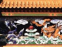 Kinesisk skulptur Arkivfoto
