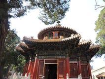 Kinesisk slottframdel royaltyfri fotografi