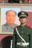 kinesisk solider Arkivfoto
