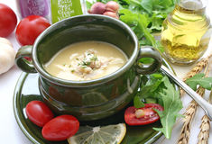 kinesisk soup Arkivfoto