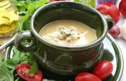 kinesisk soup royaltyfria bilder