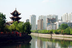 kinesisk stad Arkivbilder