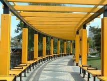 kinesisk stadskorridor Royaltyfria Bilder