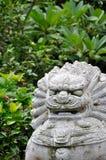 kinesisk statuary stil för fä arkivfoto