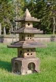 Kinesisk stenlykta Arkivbild