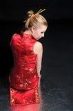 Kinesisk stil Royaltyfria Bilder