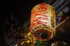Kinesisk stil för lampa Arkivbild