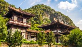 Kinesisk stilbyggnad Arkivbilder
