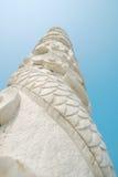 kinesisk stolpestil Arkivbild