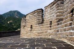 kinesisk stor vägg Fotografering för Bildbyråer