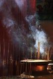 Kinesisk tample i Georg Town. Penang ö royaltyfria foton