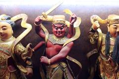 Kinesisk taoistgud Arkivbilder