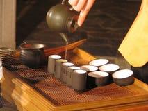 kinesisk tea Fotografering för Bildbyråer