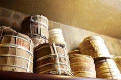 kinesisk tea för erhpu-puer Arkivbilder